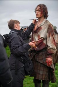 On The Set of Outlander